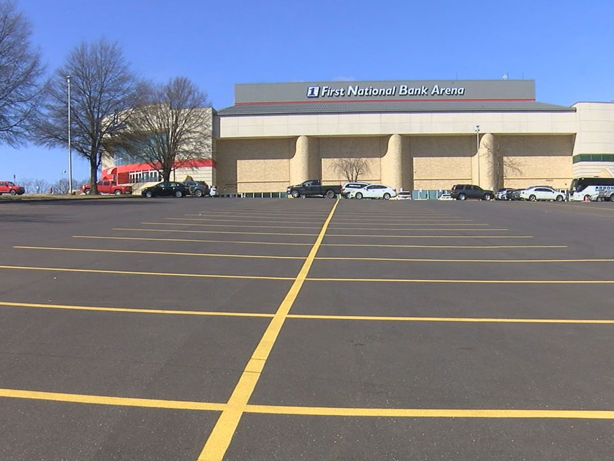 Parking craze ahead of events in and around First National Bank Arena