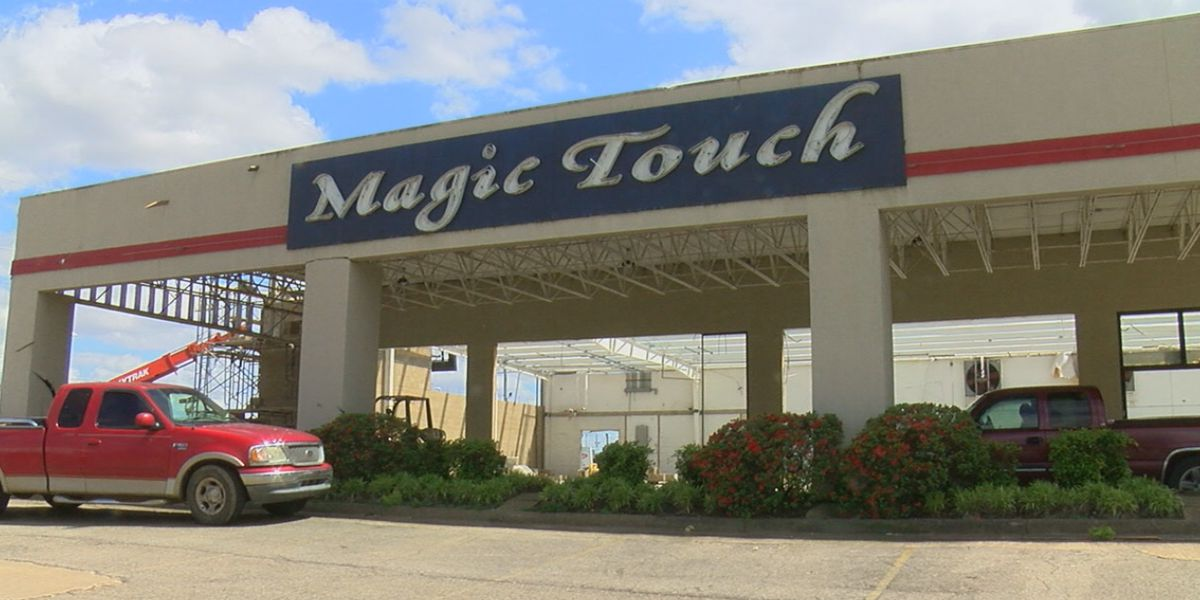 Magic Touch Cleaners working to rebuild after tornado