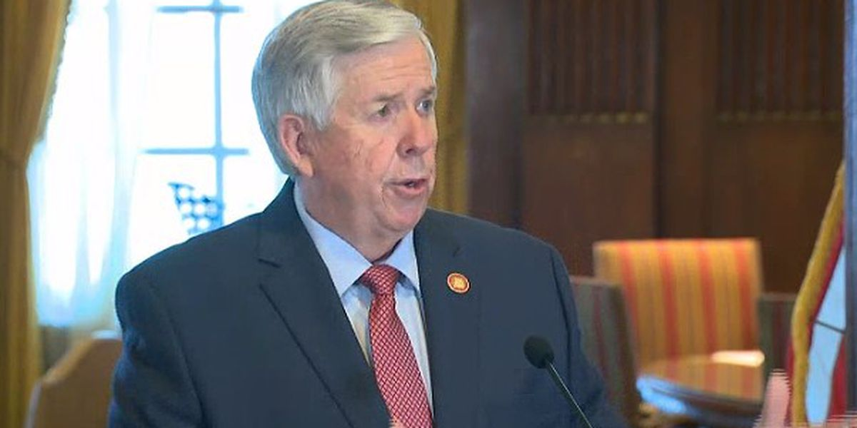 Gov. Parson: Mo. making progress as COVID-19 case rates decline