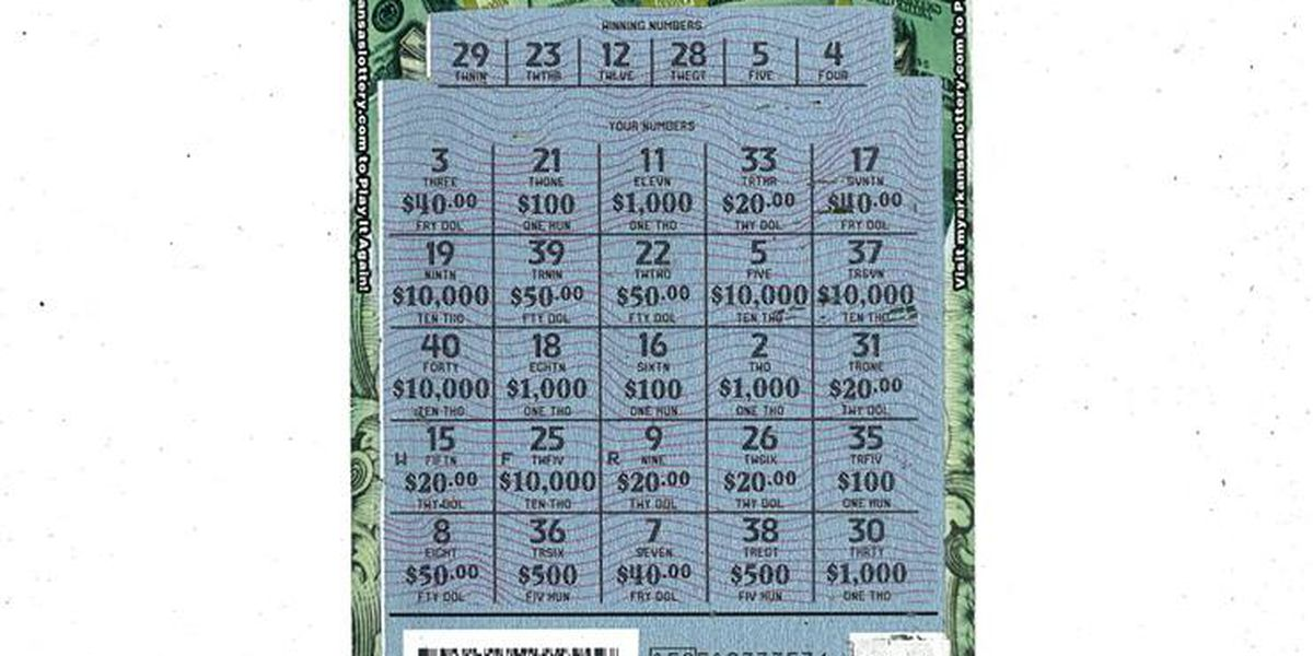 With one play, AR woman wins $10k