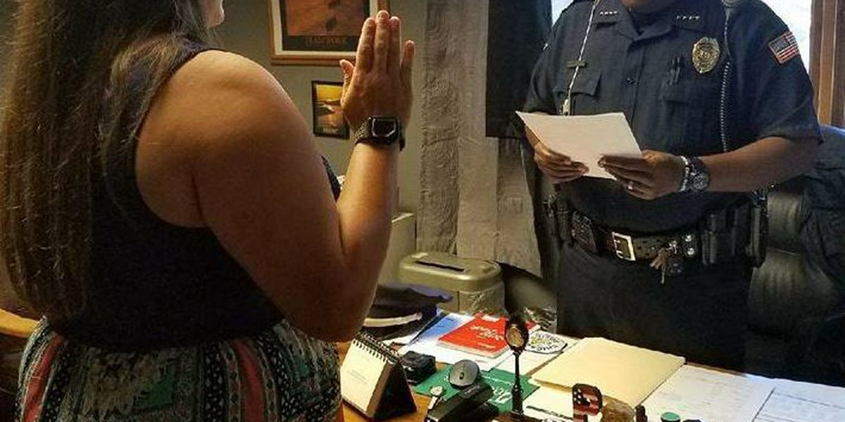 Marked Tree hires first female police officer