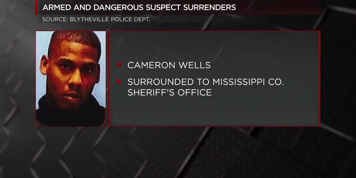 Armed and dangerous suspect surrenders to Mississippi Co.