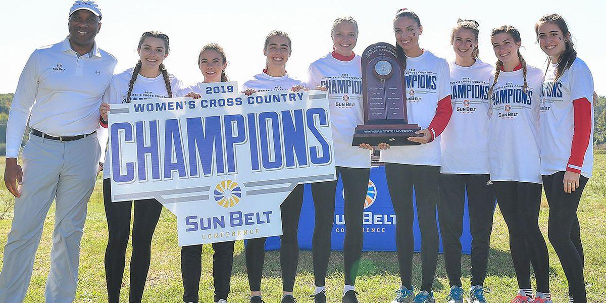 Arkansas State wins 2019 Sun Belt Women's Cross Country Championship
