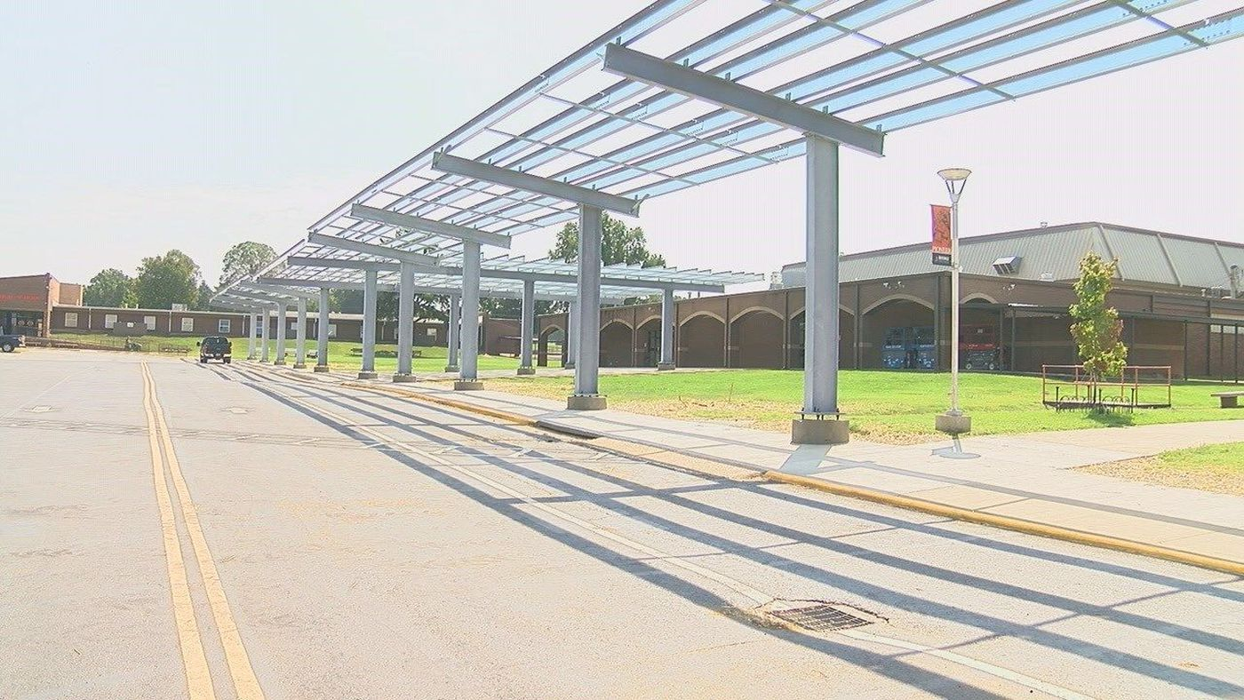 They are the first school district in the state to implement solar energy on campus (Source: KAIT)