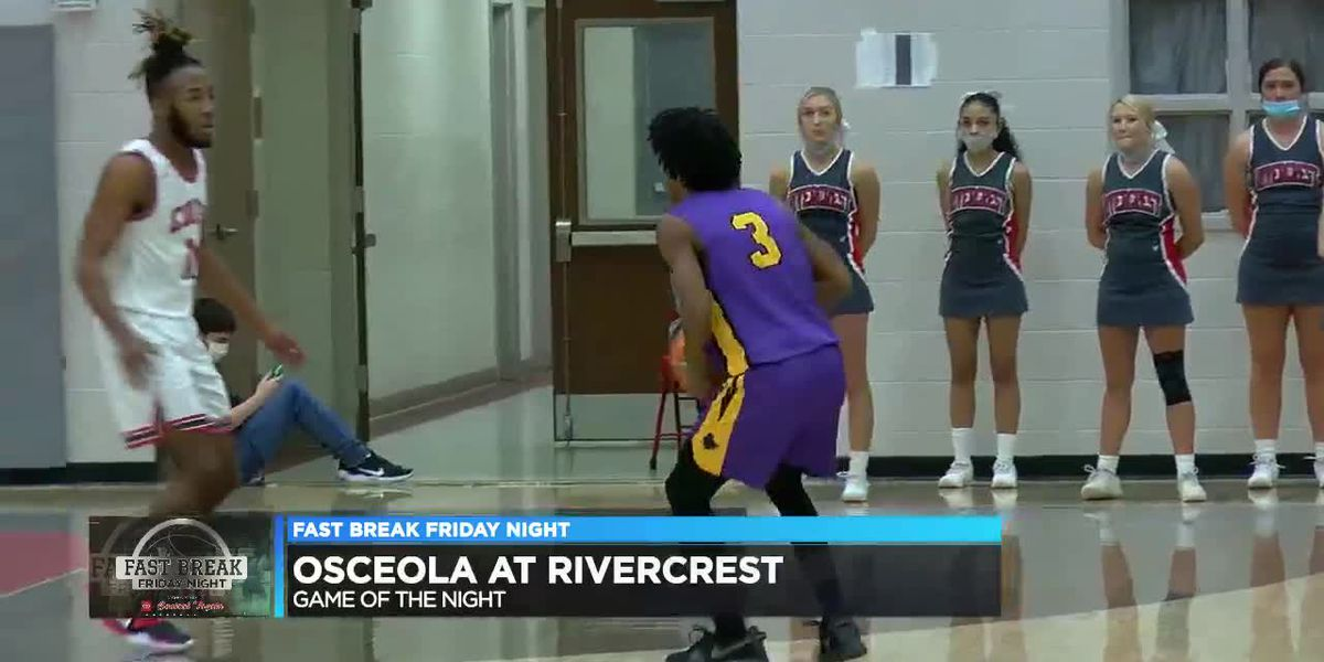 FBFN Game of the Night: Osceola beats Rivercrest in Mississippi County showdown