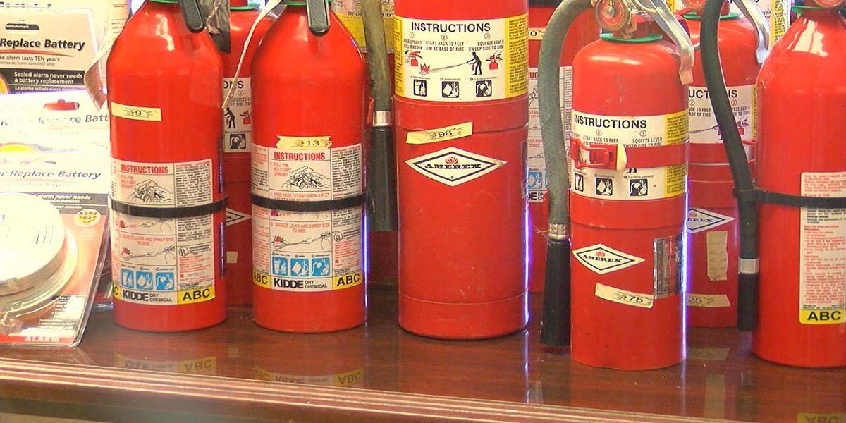 Fire Dept. installs free smoke detectors, fire extinguishers in businesses