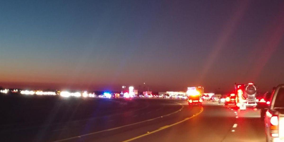 Lanes reopen on Hwy  63 after crash