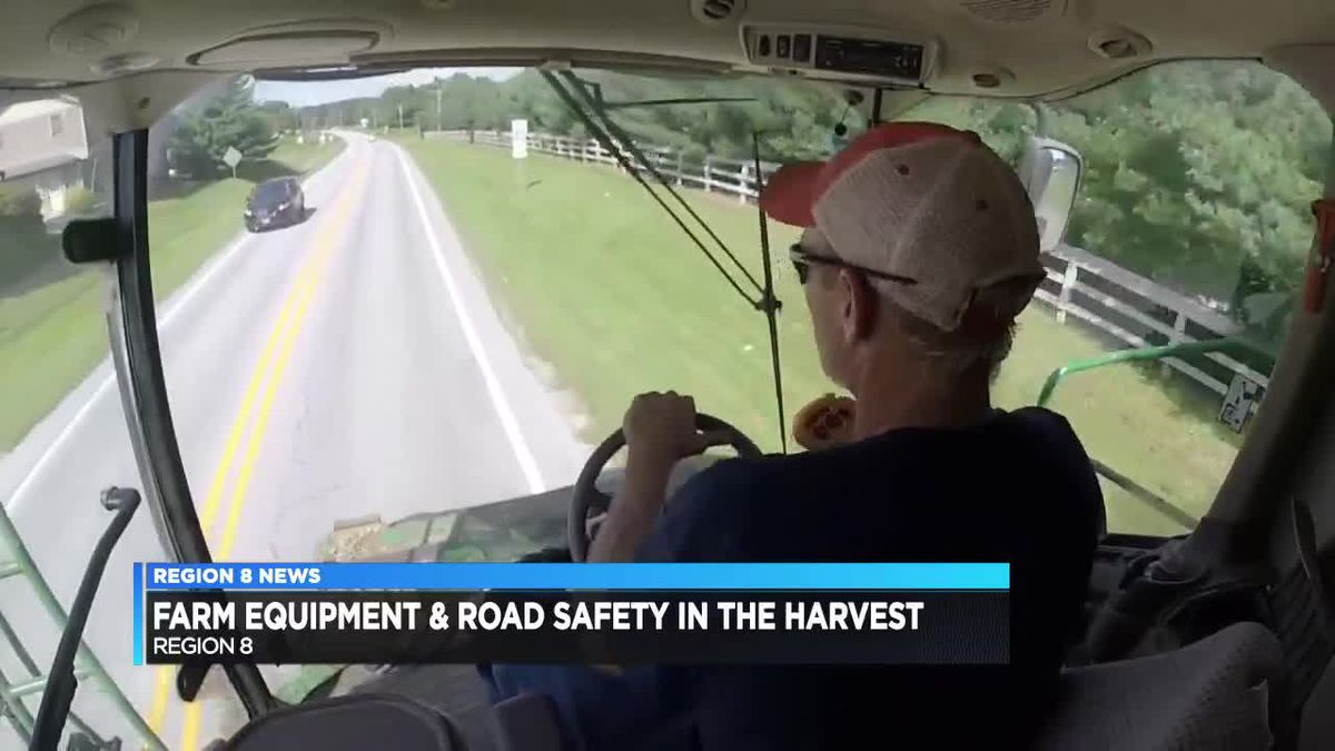 Bridge opening for harvest season: Safety on the road