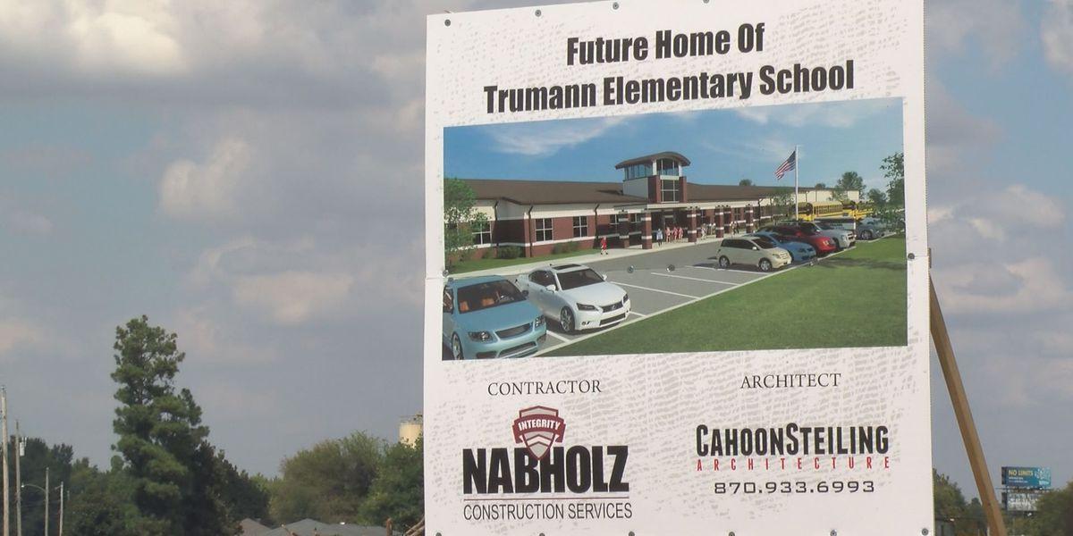 Groundbreaking event held for Cedar Park Elementary in Trumann