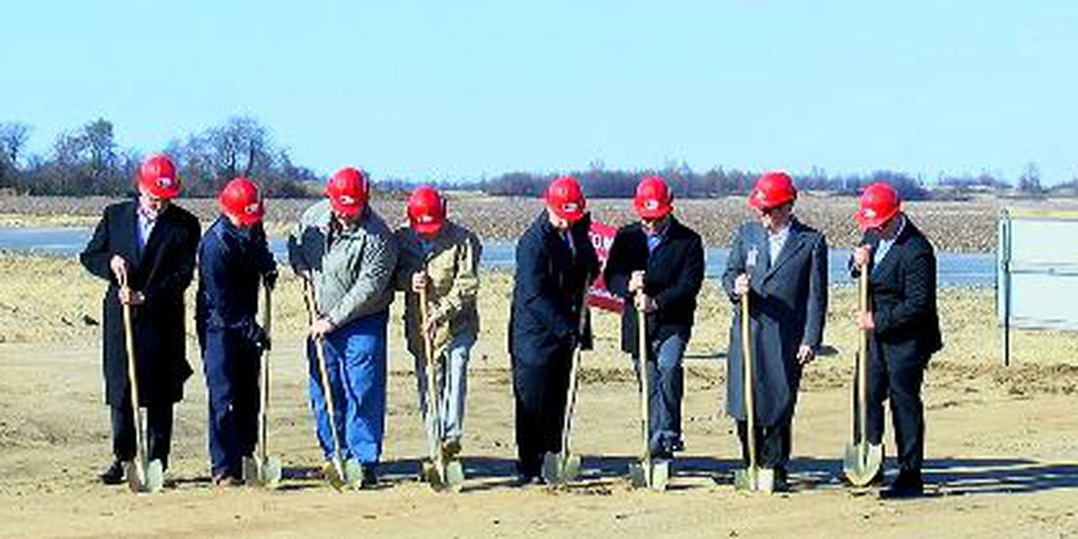 St. Bernards breaks ground in Monette