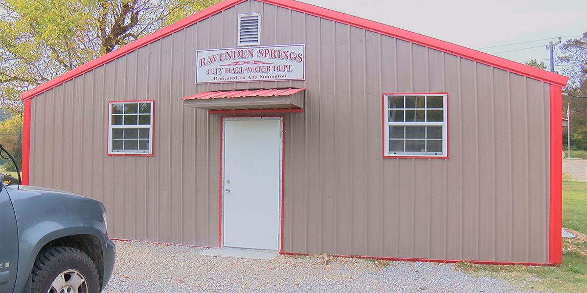 Ravenden Springs to open new city hall, dedicated to former council member