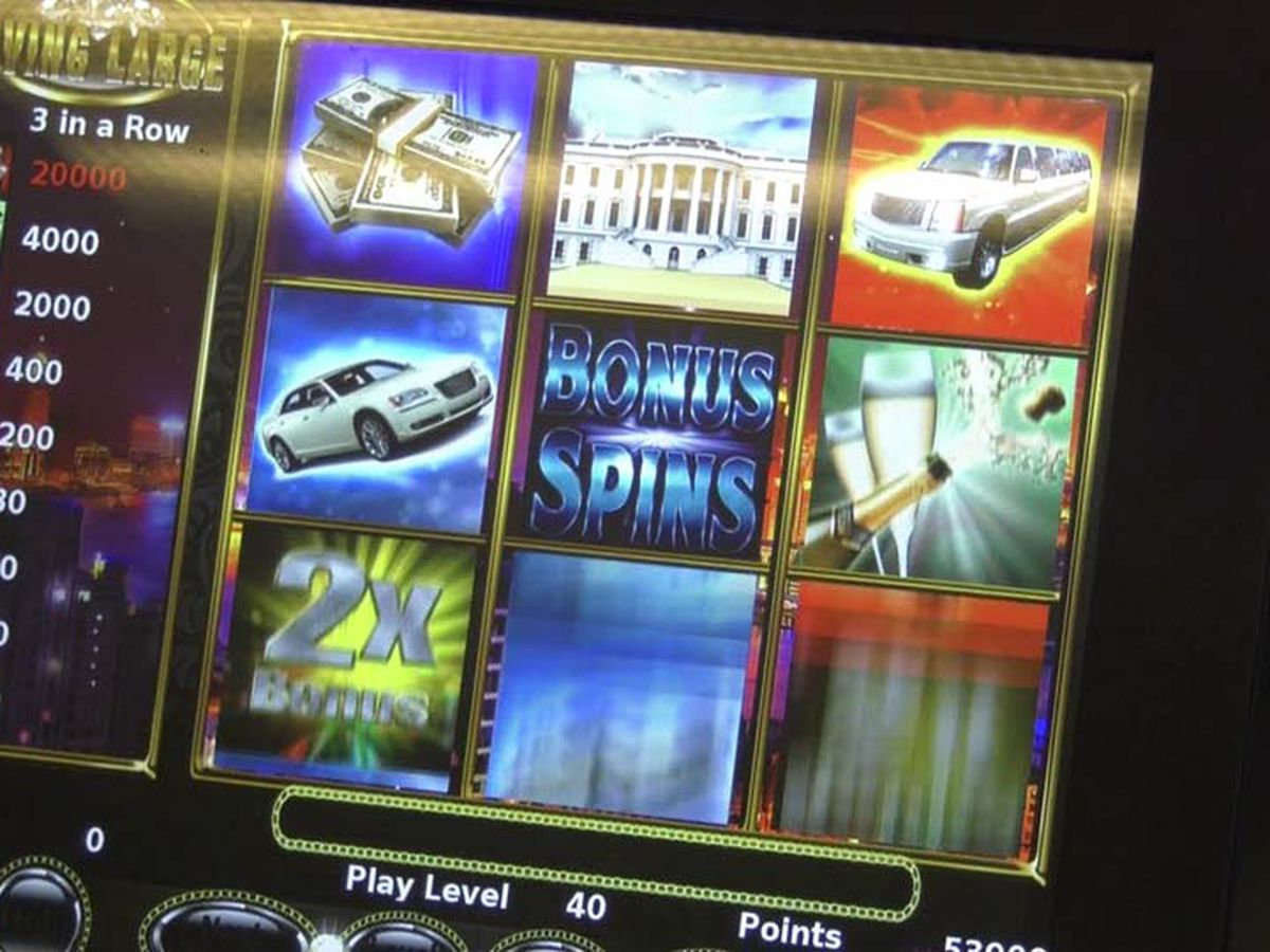 16 arrested in gambling machine raids