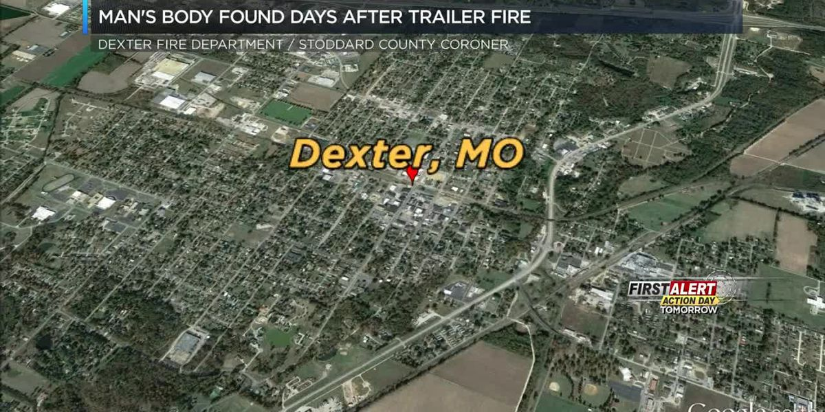 Man's body found after fire