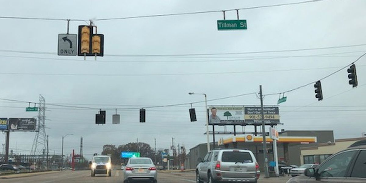 Power outages affecting street lights, businesses across Memphis