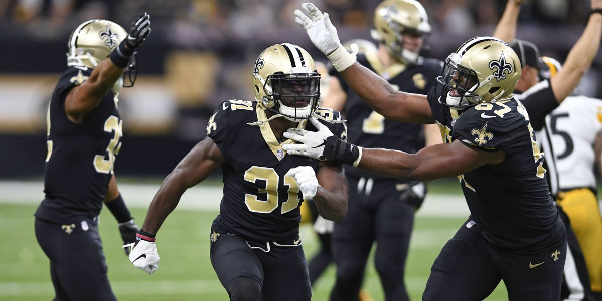 Saints narrowly upend Steelers and take top NFC seed 619234129