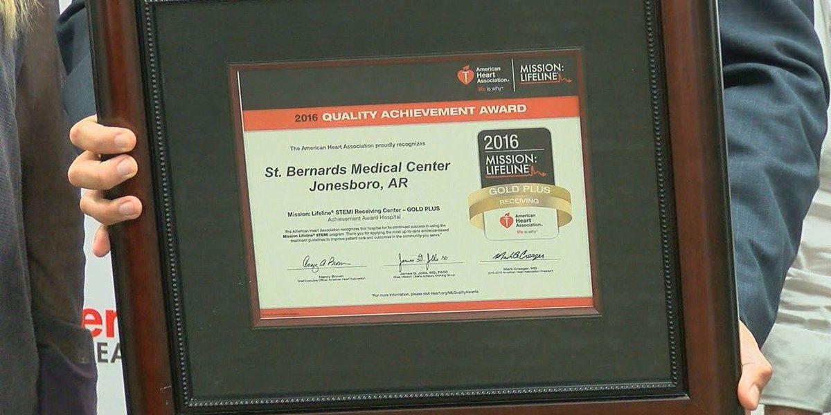 Jonesboro hospital awarded for heart care