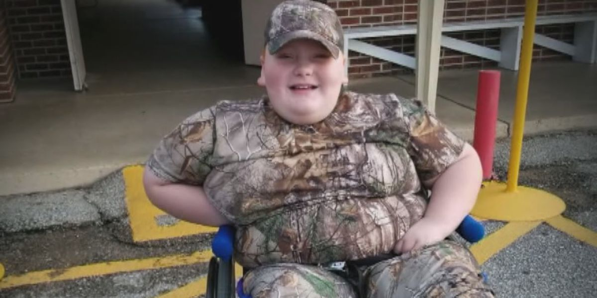 Special hunting equipment stolen from disabled 8-year-old boy