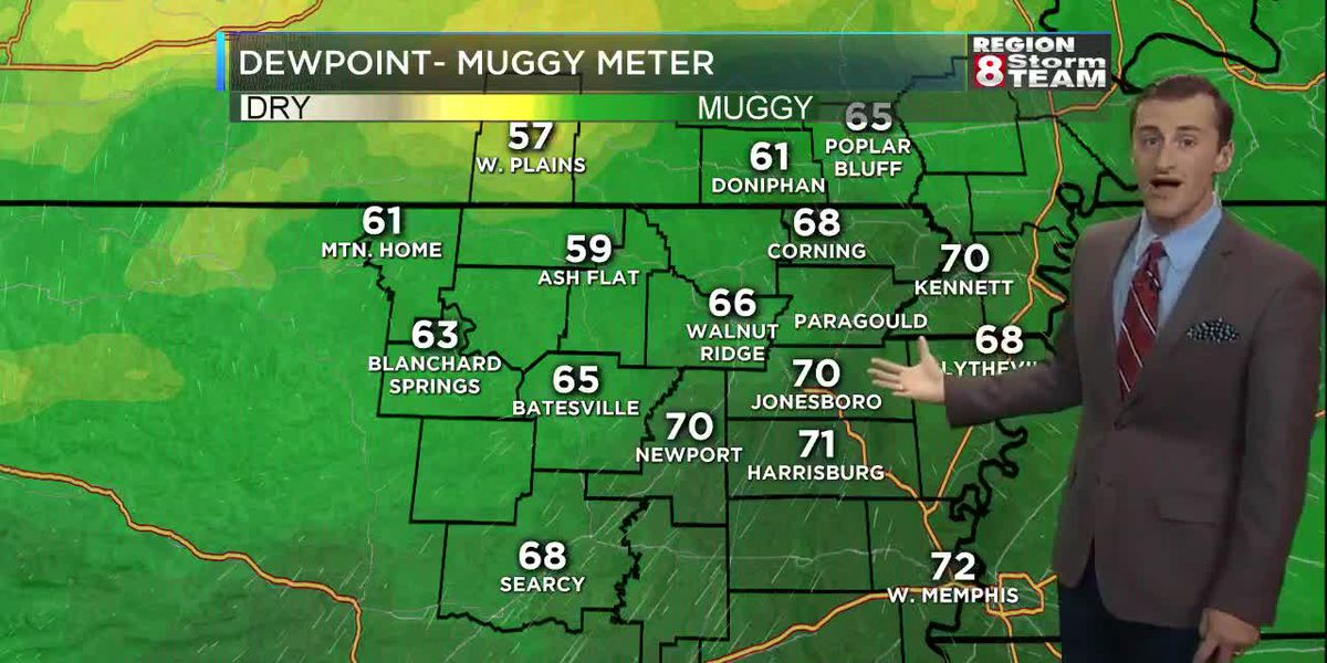 June 25: Muggy morning; storm cleanup continues