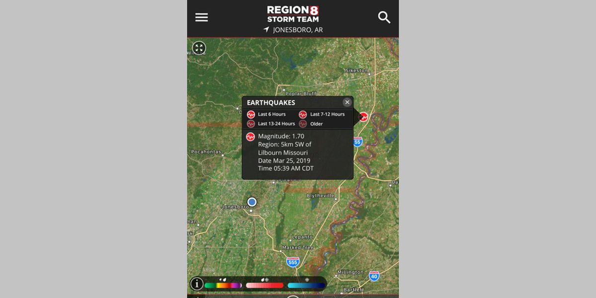 1.7 quake rattles Bootheel Missouri