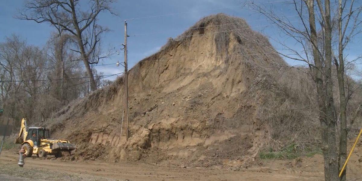 Recent rain causes mudslide in Helena-West Helena