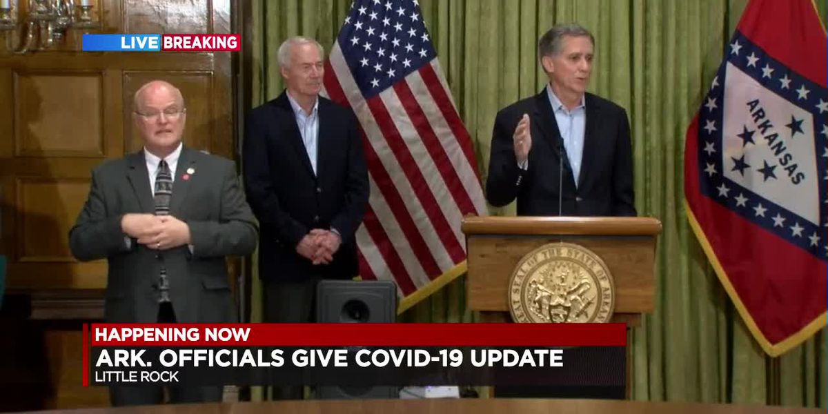 FULL BRIEFING : Gov. Hutchinson's state COVID-19 briefing for 3/28