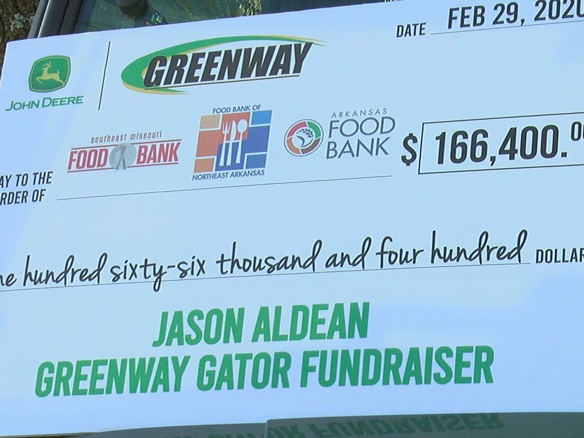 Gator giveaway raises $166,400 for local food banks