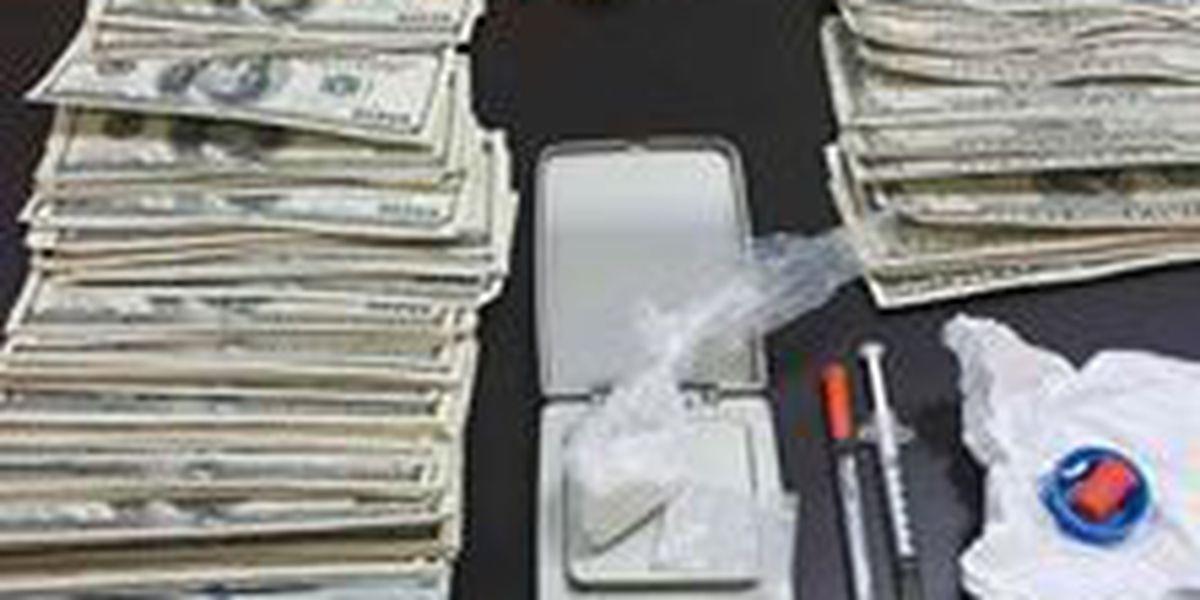 Police seize meth, cash in drug bust
