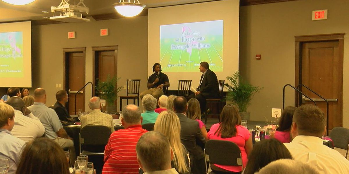 Former NFL Star in Region 8 encouraging early detection for breast cancer