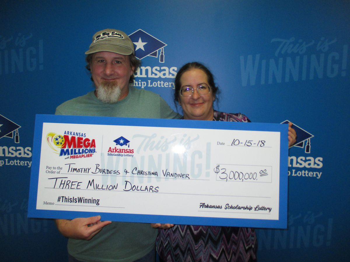 Arkansas woman wins $3 million in Mega Millions drawing