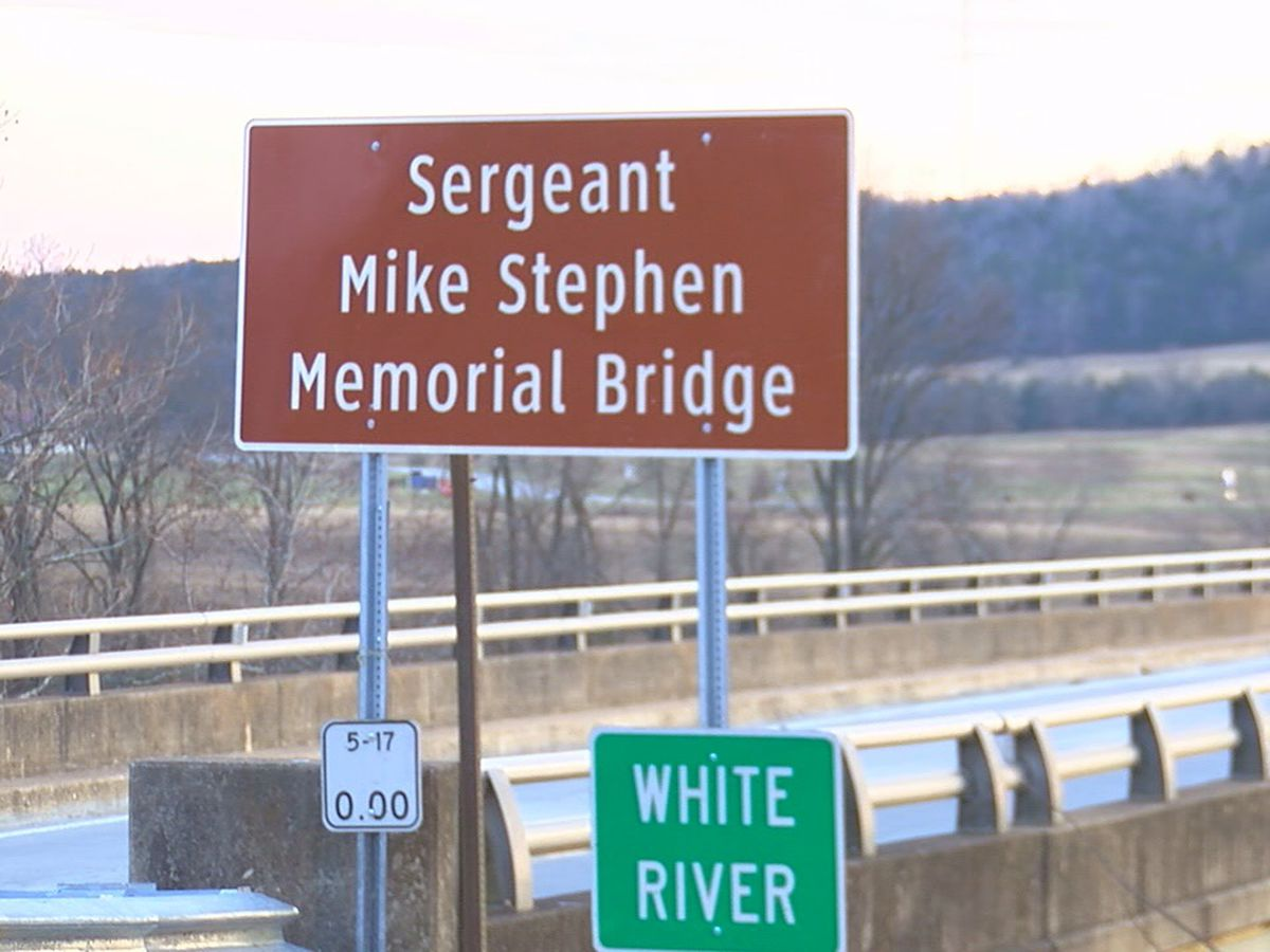 White River bridge dedicated in memory of Sgt. Mike Stephen