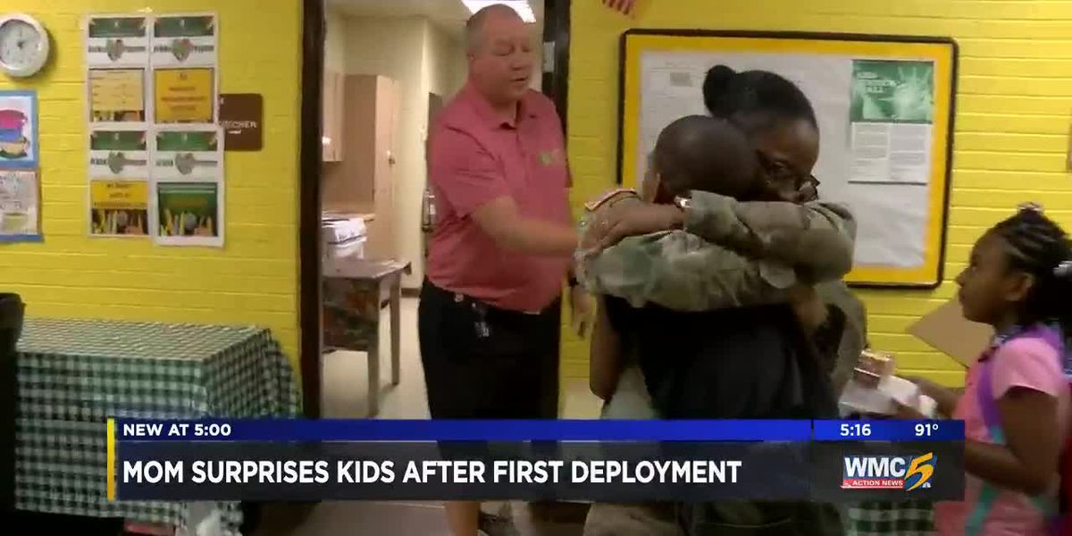Soldier mom reunites with son after 8-month deployment