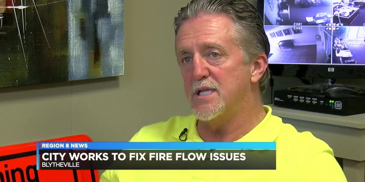 Blytheville works to fix fire flow issues