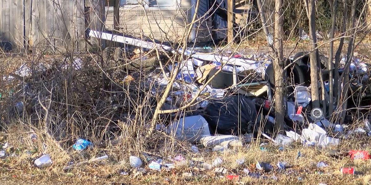 Memphis neighborhood activist says city is becoming a trash dump
