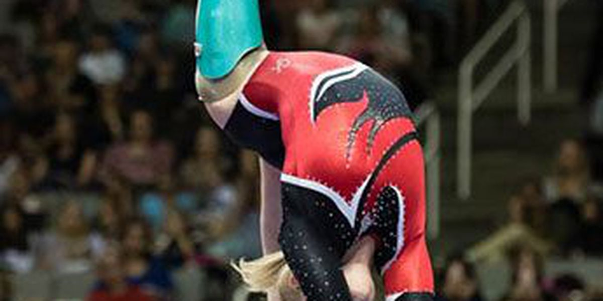 Amputee gymnast with Region 8 ties wins award during Women's Olympic Trials