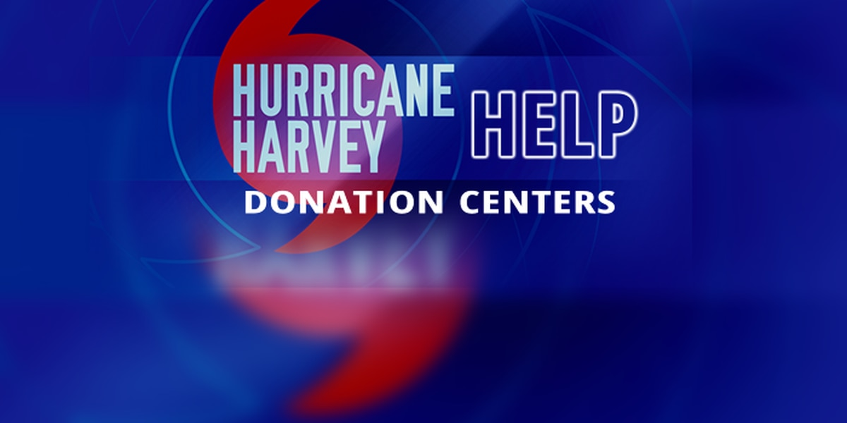 How to donate money, items to Harvey victims