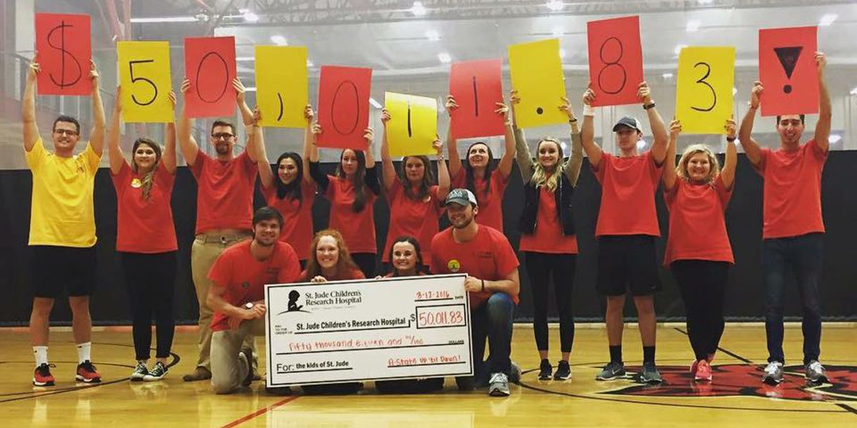 A-State students raise $50,000 for St. Jude