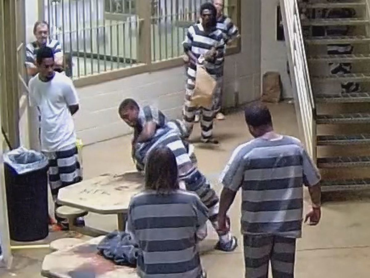 Video of fight between inmates released