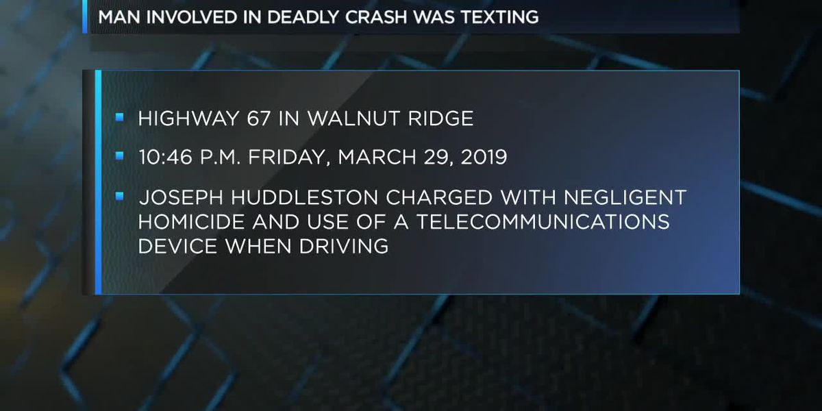 ASP: Man involved in fatal 2019 crash was texting