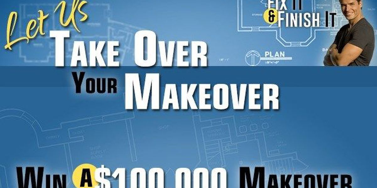 Enter 'Take Over Your Makeover' Contest