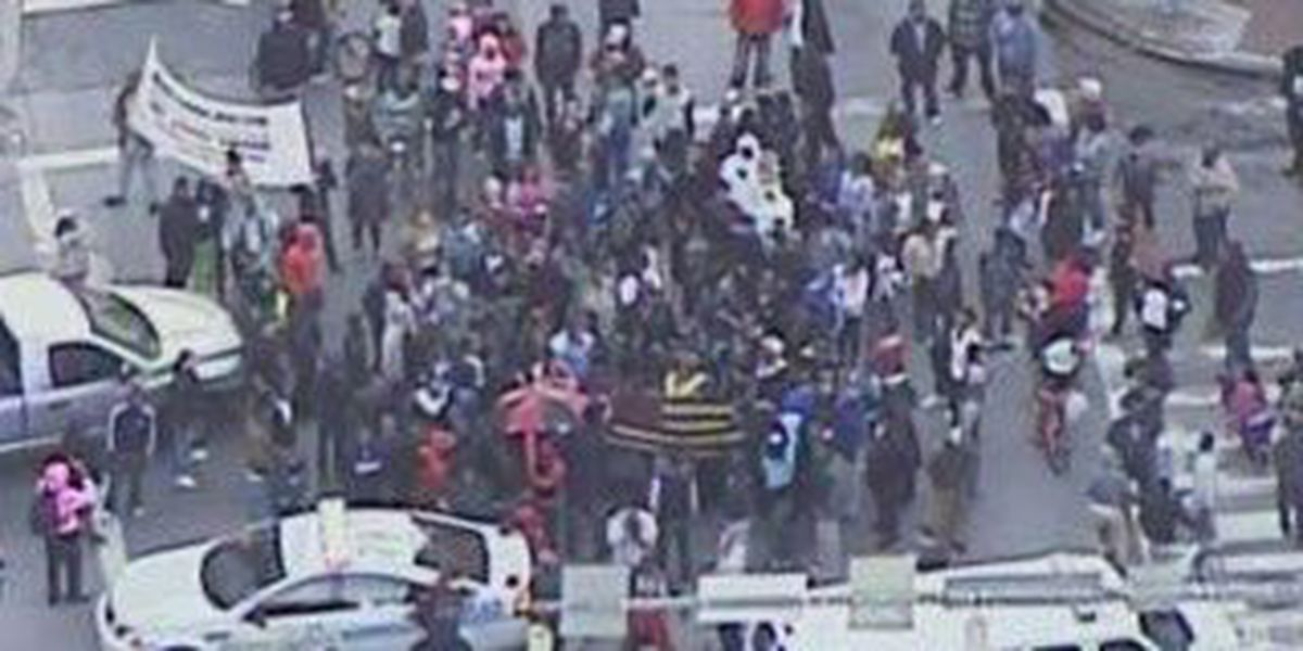 HAPPENING NOW: Tensions on the rise in Baltimore