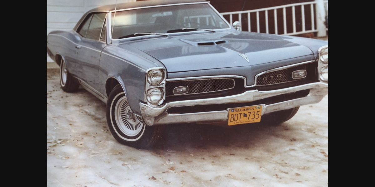 A family tradition: 1960s Pontiac GTO passed down from grandmother to grandson