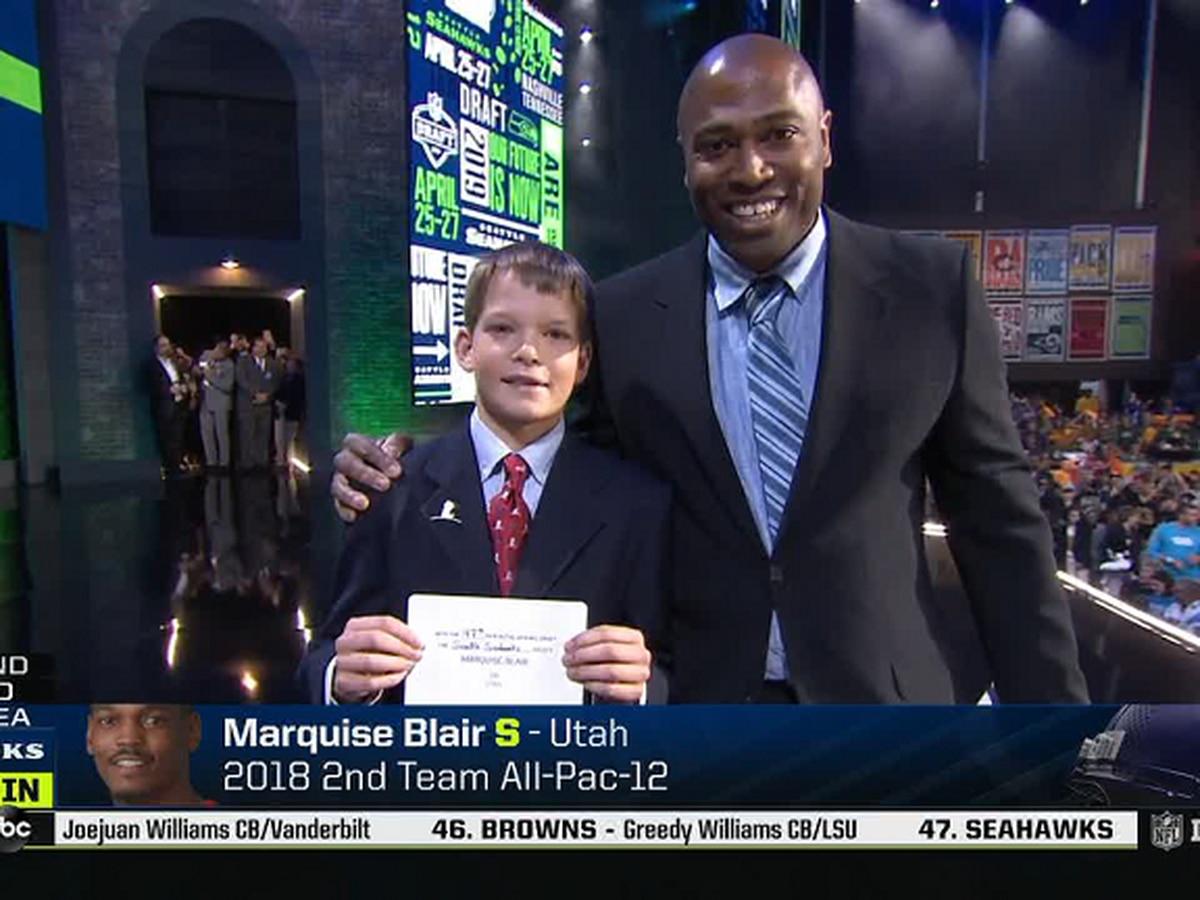 Jonesboro native Owen Church announced Seahawks pick Friday at NFL Draft