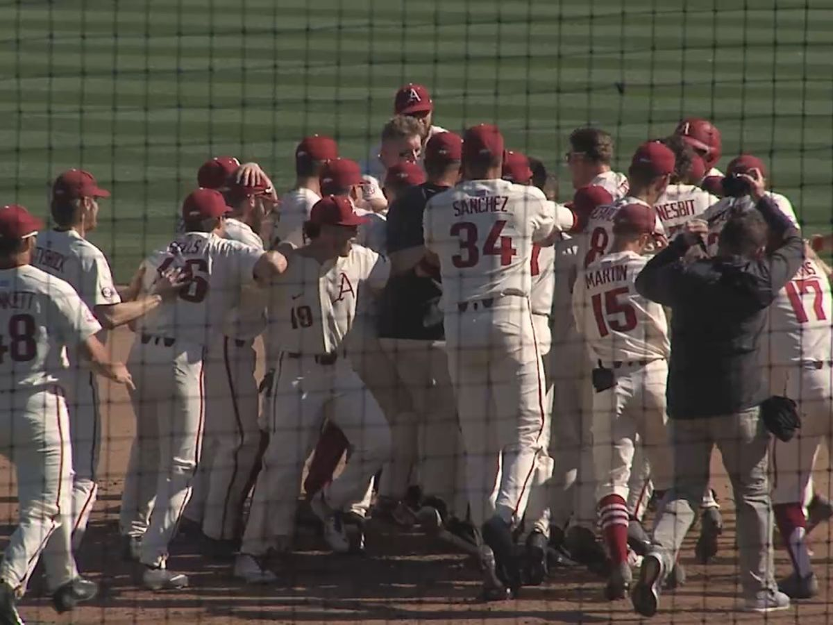 Hogs walk-off Mizzou for series sweep