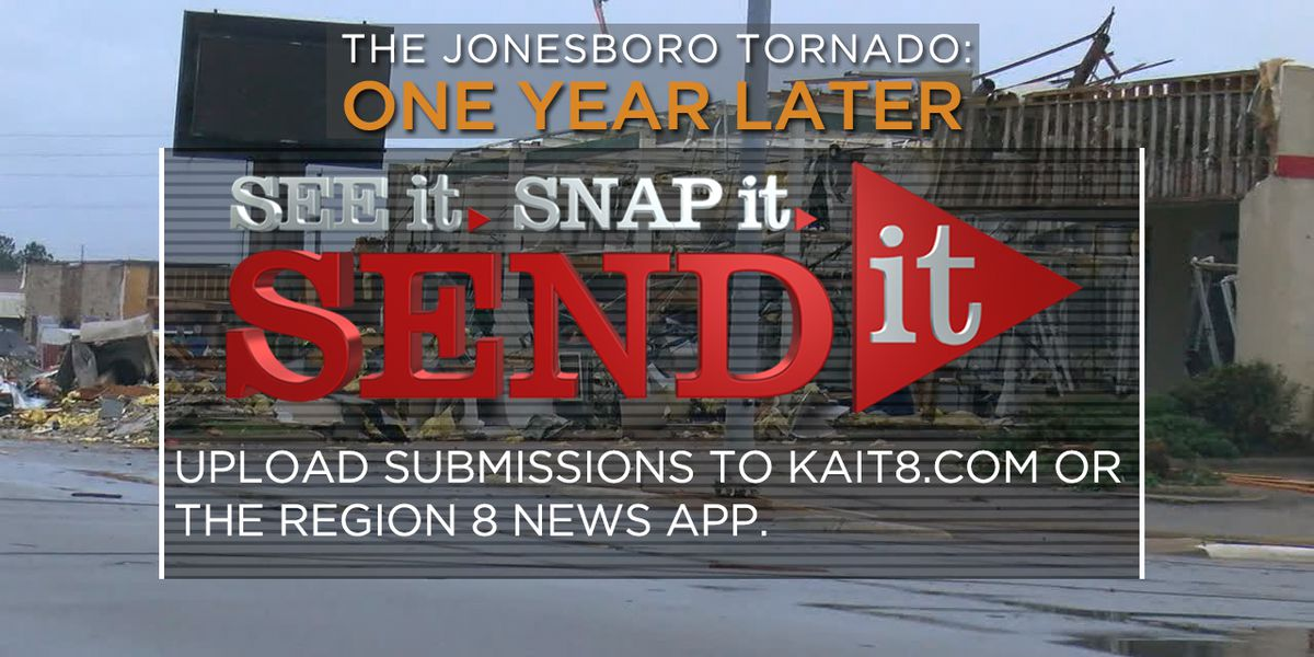 What's YOUR story about Jonesboro's tornado last March?