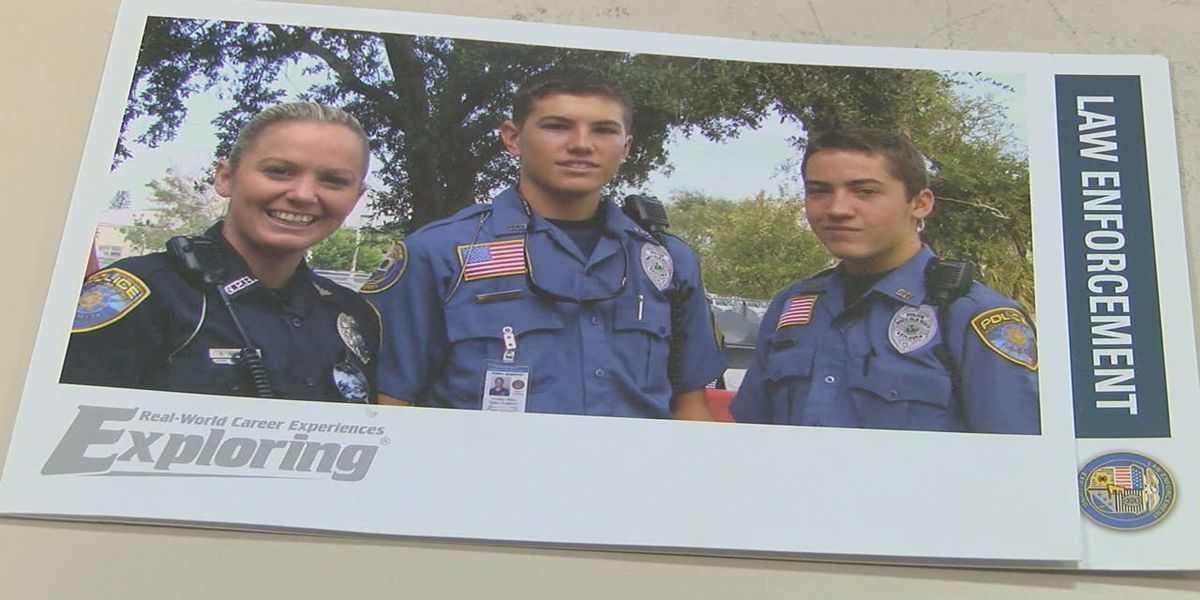 Law enforcement program for interested youth
