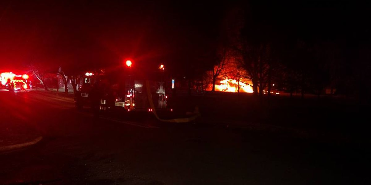 PFD responds to early morning barn fire