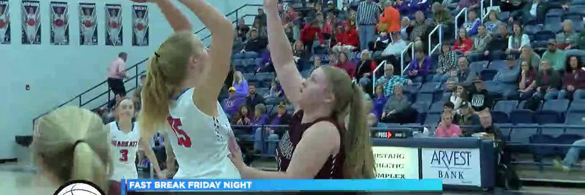 Fast Break Friday Night: Melbourne beats Riverside in 2A-3 Girls Championship