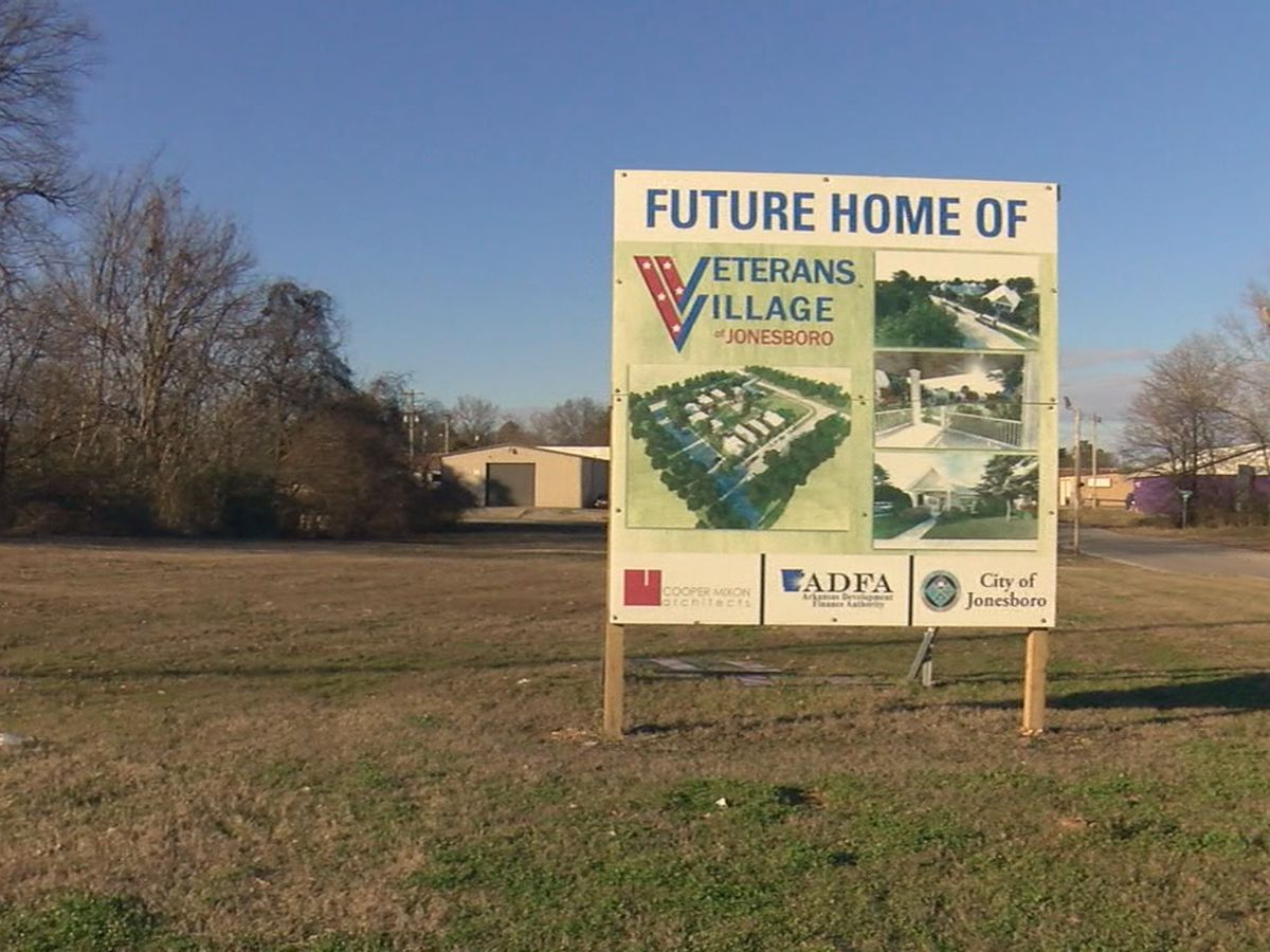 First phase of Veteran's Village project to begin this week