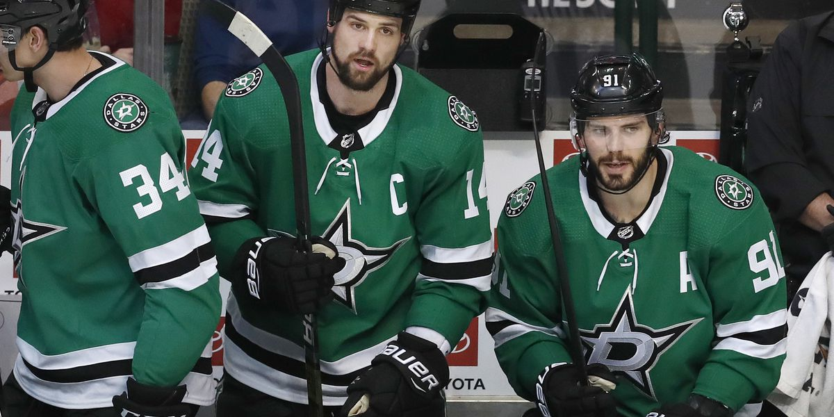 Stars blast Red Wings 5-1 day after CEO rips Benn, Seguin