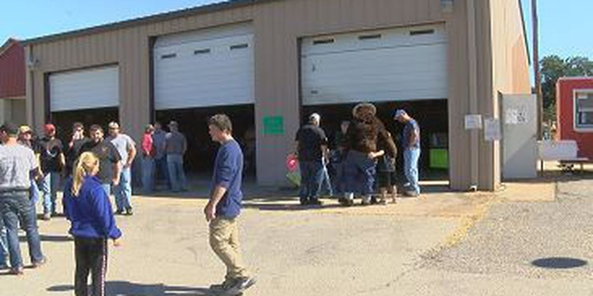 Volunteer fire department holds fall festival